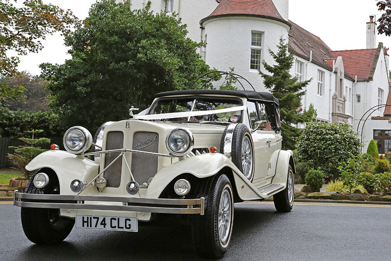 ivory beauford bridal cars in ayrshire and glasgow