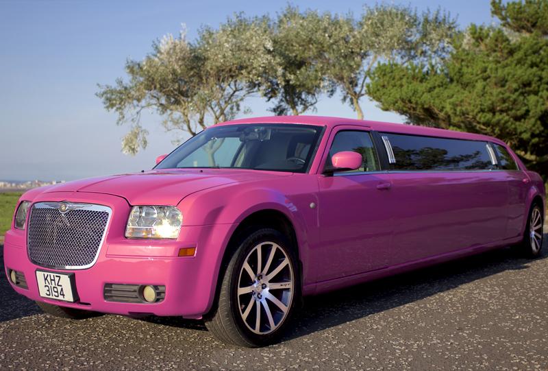 pink limo hire ayrshire