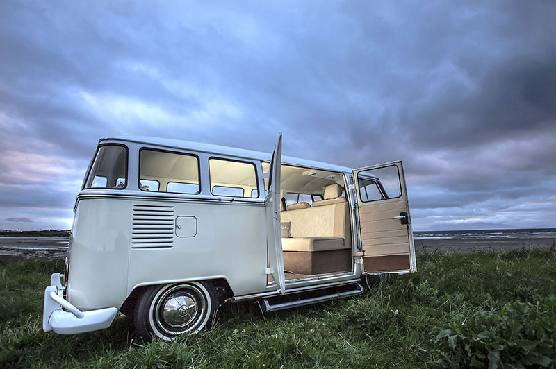 vw camper for hire in ayr