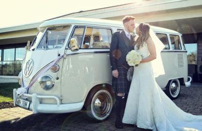 VW Camper for weddings in Ayrshire